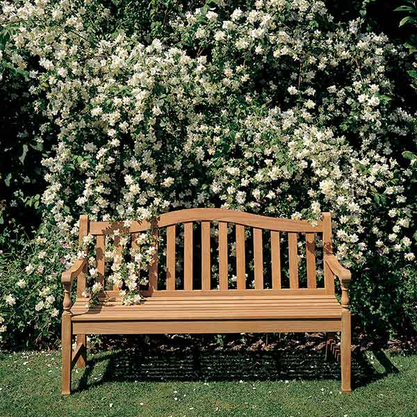 """spend your day outside: waveney 46"""" bench"""