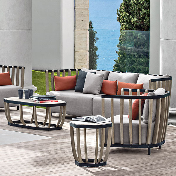small or large: create an outdoor living room with ehitmo's full swing lounge collection