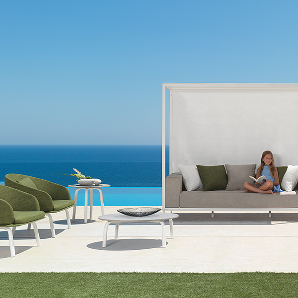 """feels like heaven: two cleo lounge armchairs (white 