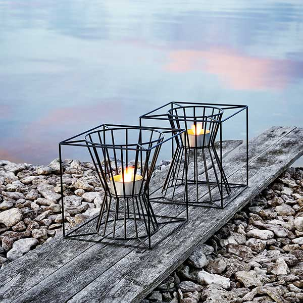 create ambiance: boo fire pit single or double will make a difference