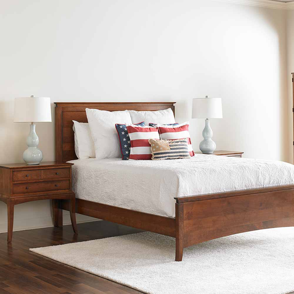 alison bed and the sabin dresser from the appalachian collection