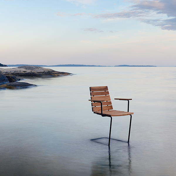 enjoy the solitary view: grinda armchair