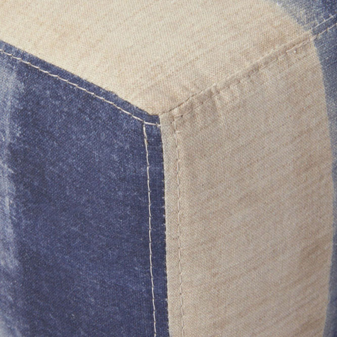 close-up: top stitch on cisco brother's slim bench (fabric: minh midnight by maurishka pinedo)