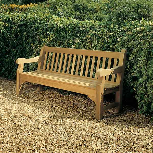 """smaller but as solid: rothesay 72"""" bench"""