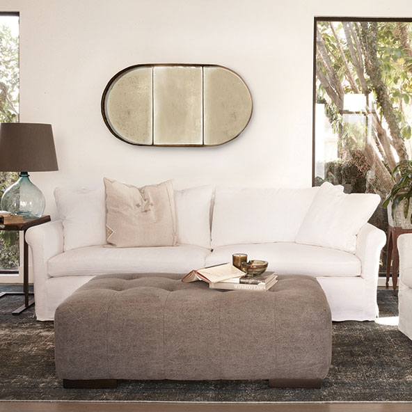 arden ottoman paired with beverly sofa by cisco brothers