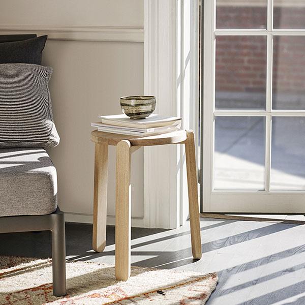 aesthetic functionality: nomad stool in oak