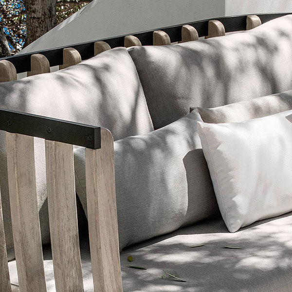 deco cushions: add more comfort and texture to your swing seating