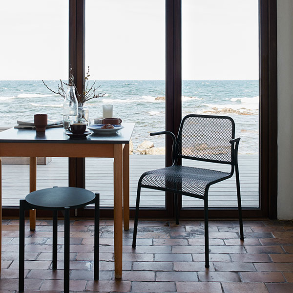 just take a rest: mira armchair works indoor as well as outdoor (finish: hunter green)