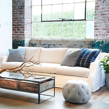 throw pillows add texture, extra comfort and a pop of color