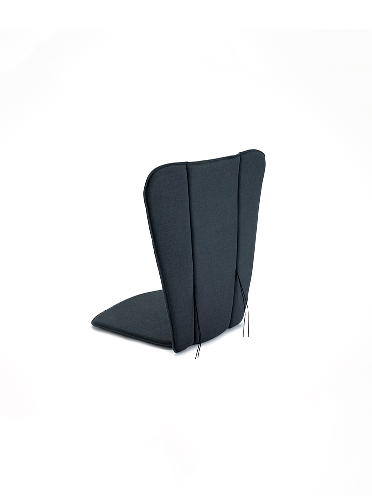 Back View: Cushion Fits Paon Lounge/ Rocking Chair (outdoor fabric)