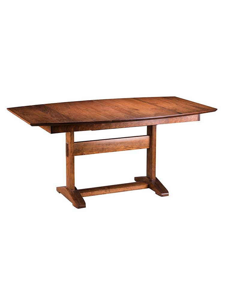 Clark Hardwood Extending Dining Table From Appalachian Collection Curran Home