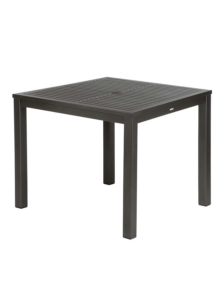 Table in Powder-Coated Aluminum, Graphite