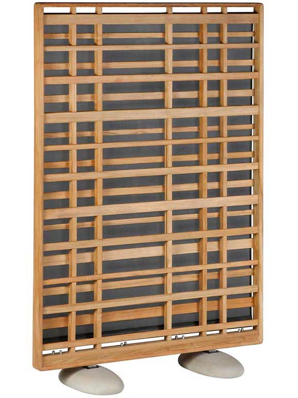 "48""W x 70""H Woodland Teak Screen 