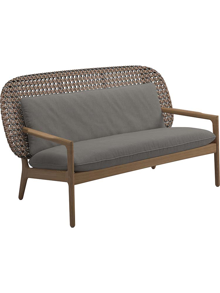 Back Panel Wicker, Brindle | Note: Large Back Cushion Not Included in Price