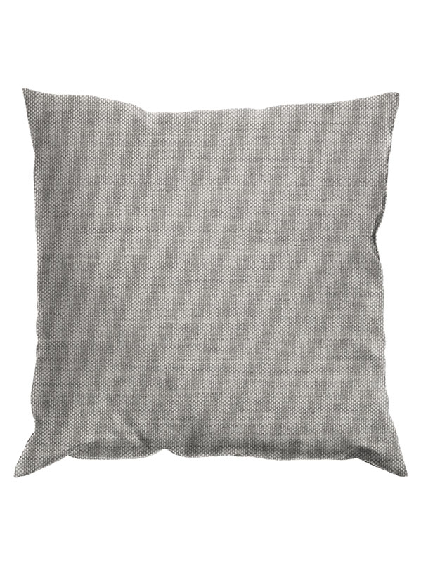 "Gloster 24"" Throw Pillow with Fife Grey Fabric"
