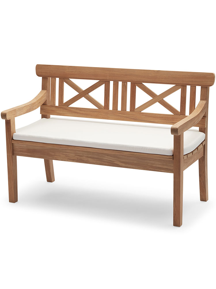 Optional Bench Cushion in Outdoor Textile, White