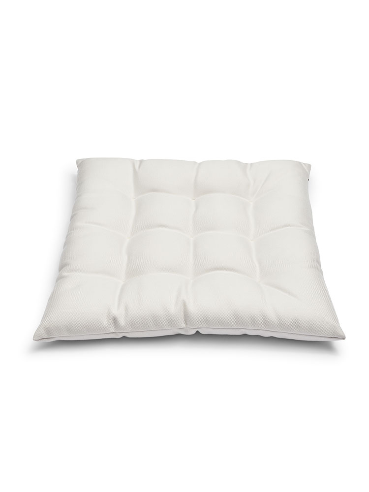 Barriere Seat Cushion | Outdoor Textile, White
