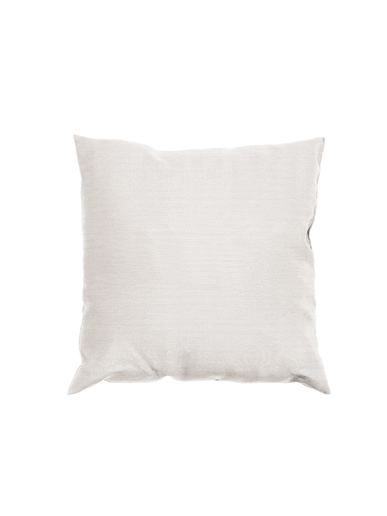 "Gloster 16"" Throw Pillow with Fife Ice Fabric"
