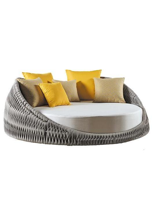 """Shown with Two 23.6"""" Square Dupione & Two 19.7"""" Square Edgar & Two 15.8"""" Square Dupione/ Edgar Deco Cushions (included in price)"""