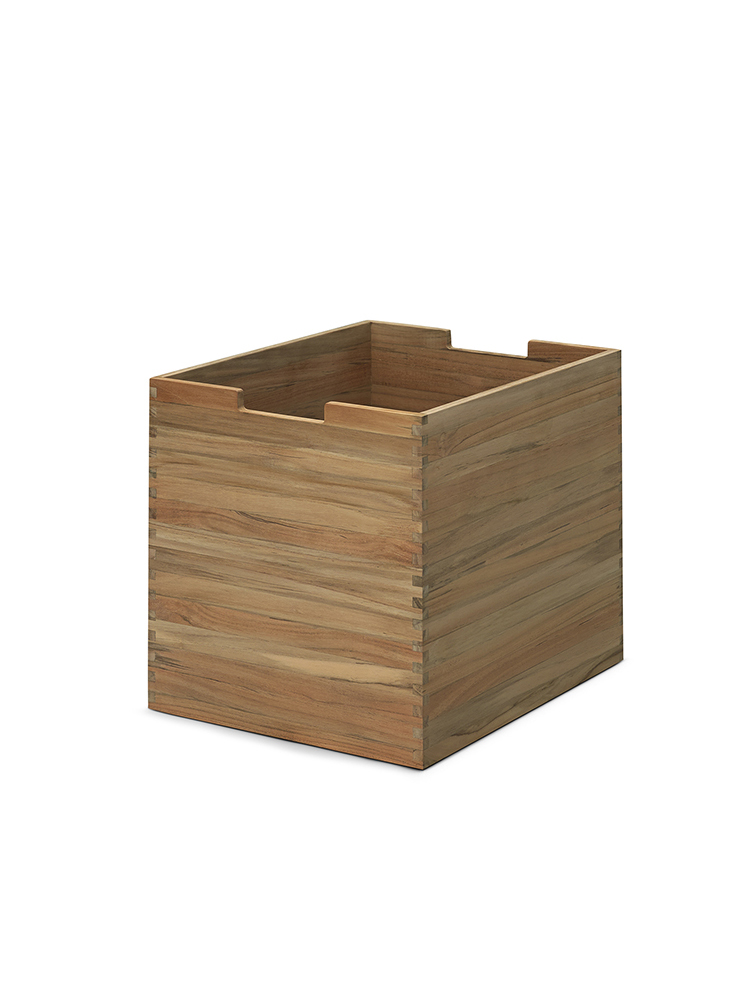 Cutter Box Large in Teak