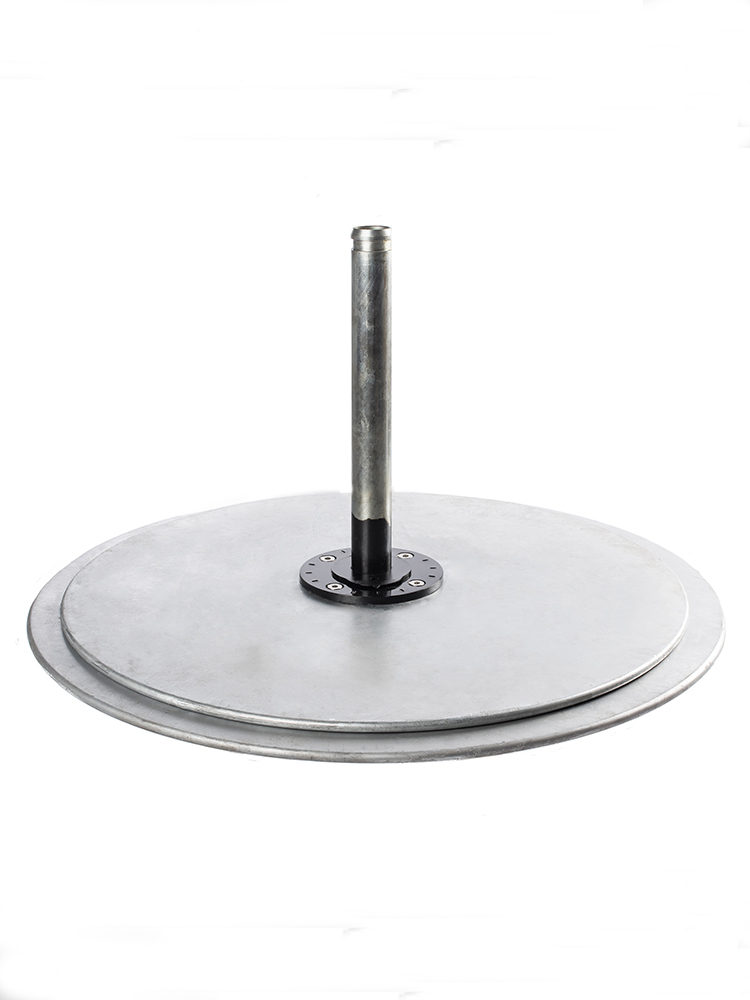 Galvanized Steel | Double Stack | Silver