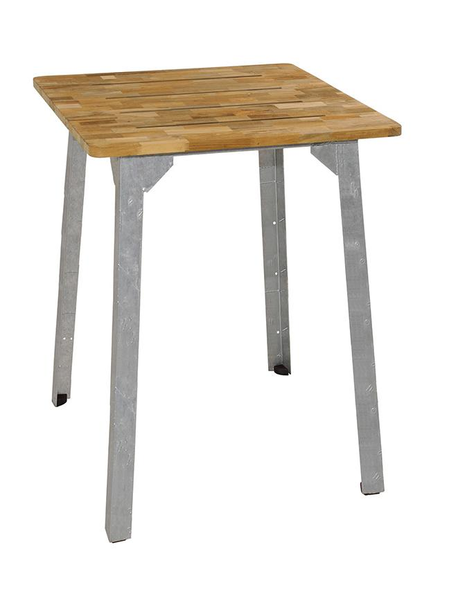 INDUSTRIAL SQUARE BAR TABLE
