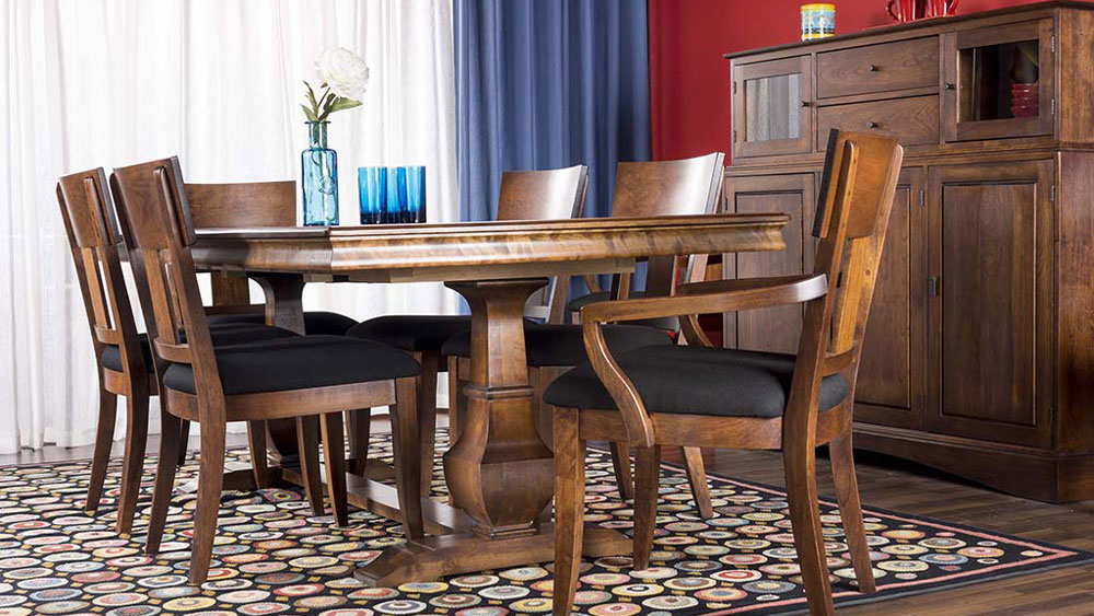 Palisade Double Pedestal Dining