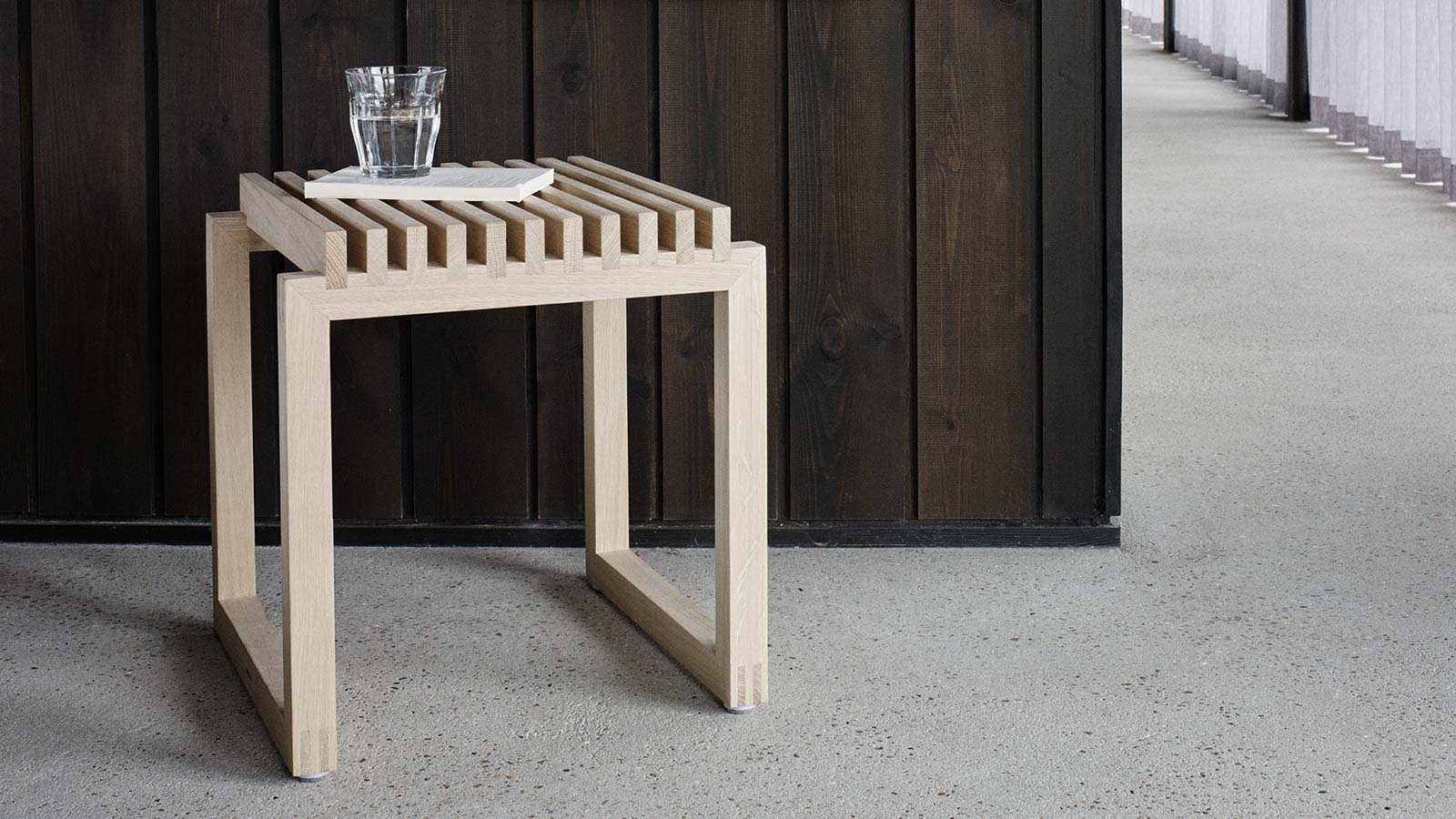 Skagerak Cutter Oak Stool